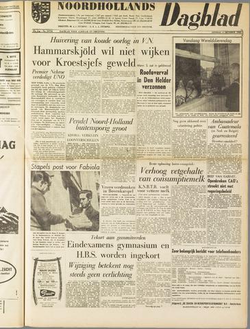 Noordhollands Dagblad : dagblad voor Alkmaar en omgeving 1960-10-04