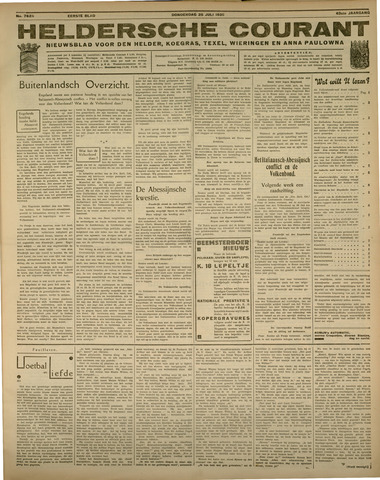 Heldersche Courant 1935-07-25