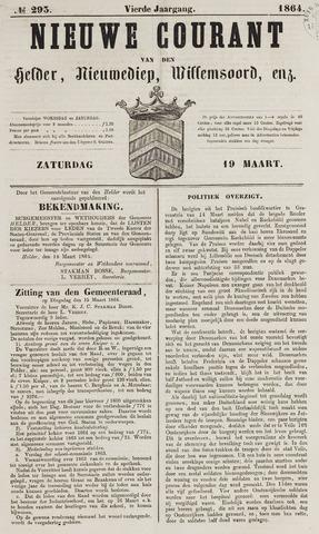 Nieuwe Courant van Den Helder 1864-03-19