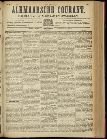Alkmaarsche Courant 1928-05-14