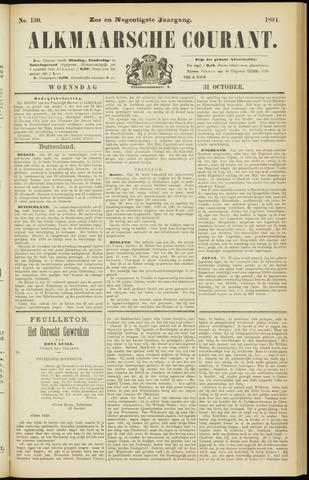 Alkmaarsche Courant 1894-10-31