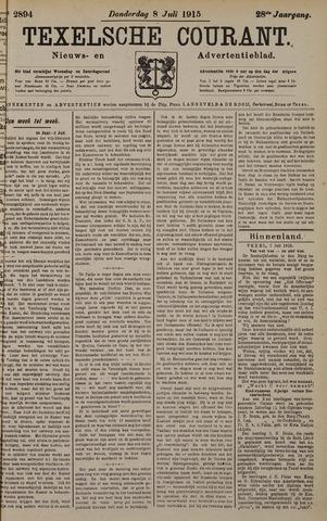 Texelsche Courant 1915-07-08