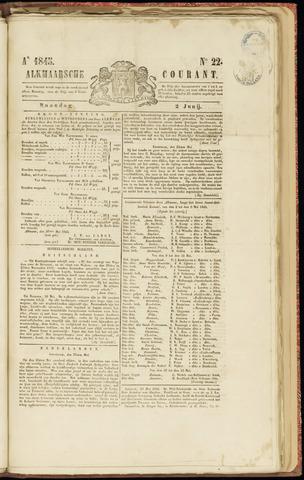 Alkmaarsche Courant 1845-06-02