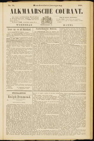 Alkmaarsche Courant 1898-06-29