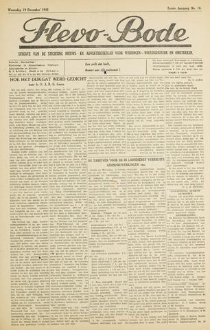 Flevo-bode: nieuwsblad voor Wieringen-Wieringermeer 1945-12-19