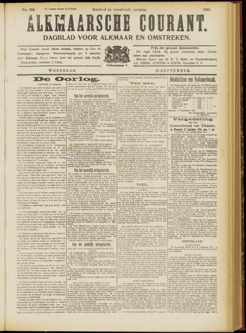 Alkmaarsche Courant 1915-09-15
