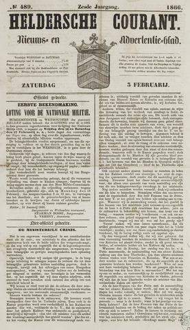 Heldersche Courant 1866-02-03