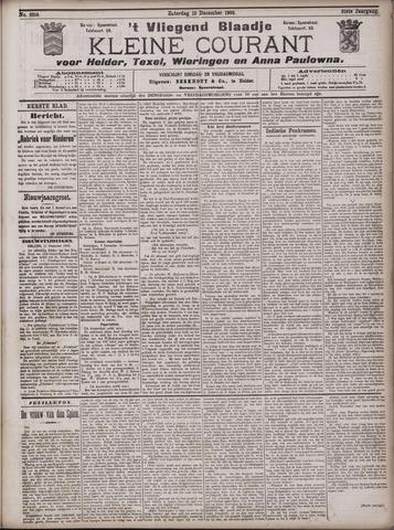 Vliegend blaadje : nieuws- en advertentiebode voor Den Helder 1903-12-12