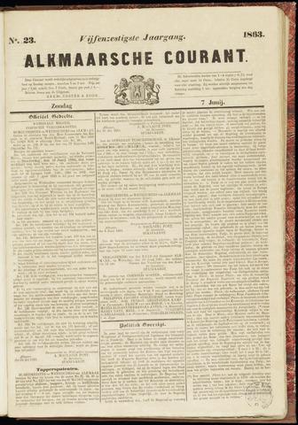 Alkmaarsche Courant 1863-06-07