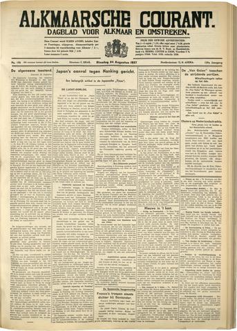 Alkmaarsche Courant 1937-08-24