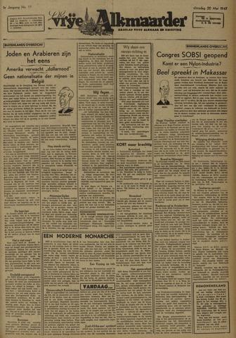 De Vrije Alkmaarder 1947-05-20