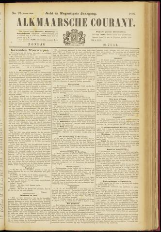 Alkmaarsche Courant 1896-07-26
