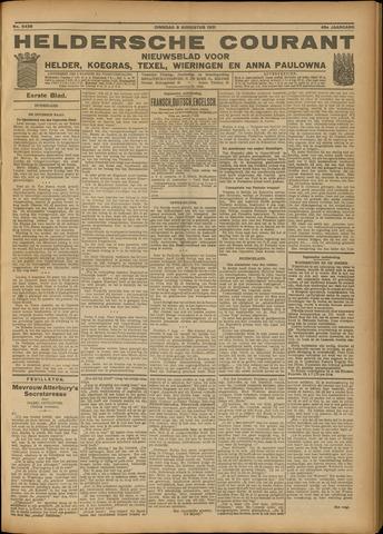 Heldersche Courant 1921-08-09