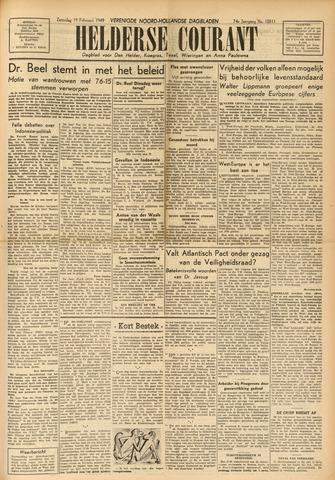 Heldersche Courant 1949-02-19