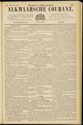 Alkmaarsche Courant 1903-05-06