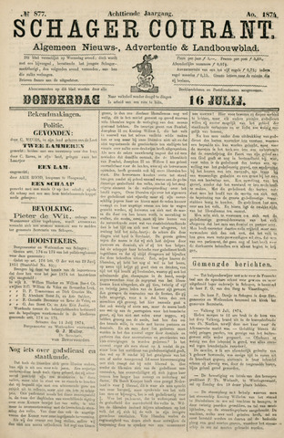 Schager Courant 1874-07-16
