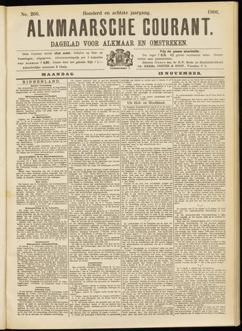 Alkmaarsche Courant 1906-11-12