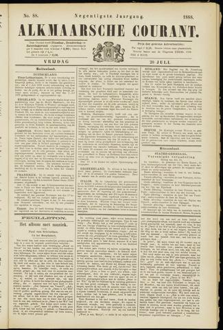 Alkmaarsche Courant 1888-07-20