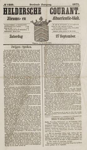 Heldersche Courant 1873-09-27