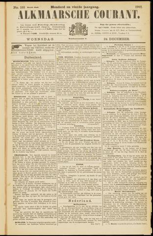 Alkmaarsche Courant 1902-12-24