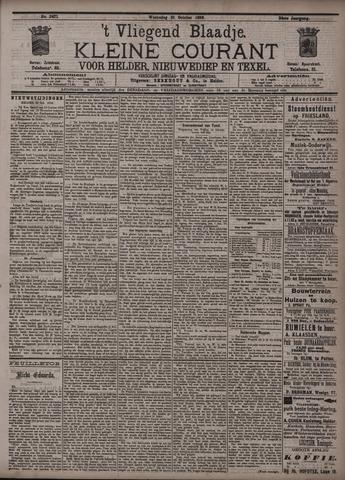 Vliegend blaadje : nieuws- en advertentiebode voor Den Helder 1896-10-21