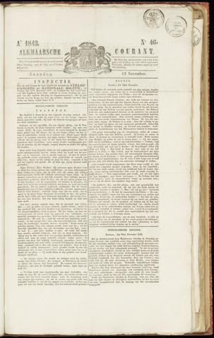 Alkmaarsche Courant 1843-11-13