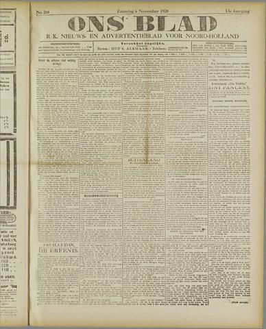 Ons Blad : katholiek nieuwsblad voor N-H 1920-11-06