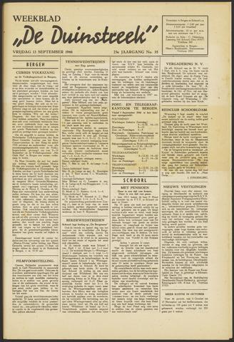 De Duinstreek 1946-09-13