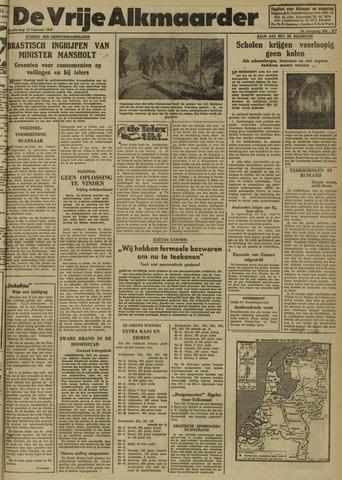 De Vrije Alkmaarder 1947-02-13