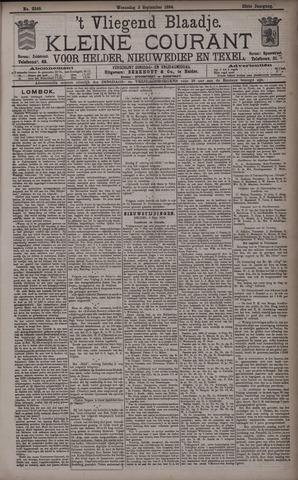 Vliegend blaadje : nieuws- en advertentiebode voor Den Helder 1894-09-05