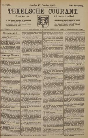 Texelsche Courant 1915-10-17