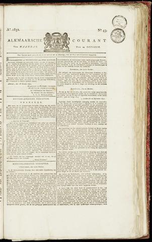 Alkmaarsche Courant 1832-10-22
