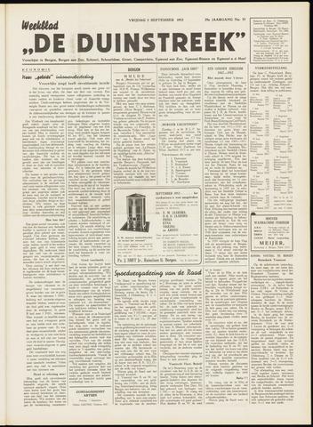 De Duinstreek 1952-09-05