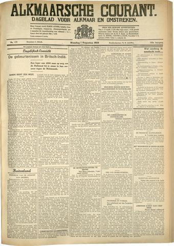 Alkmaarsche Courant 1933-08-01