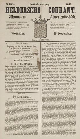 Heldersche Courant 1873-11-19