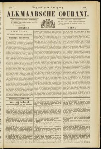 Alkmaarsche Courant 1888-06-10