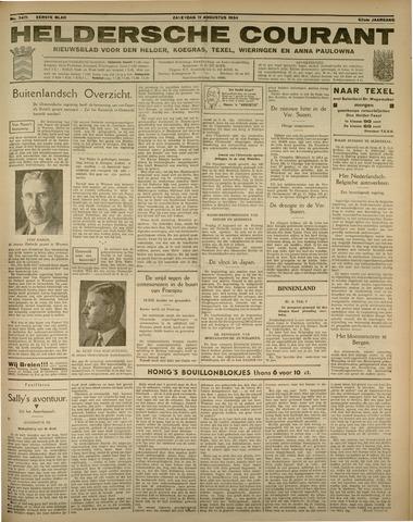 Heldersche Courant 1934-08-11