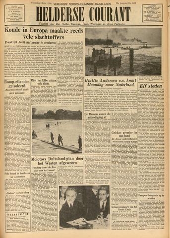 Heldersche Courant 1954-02-03