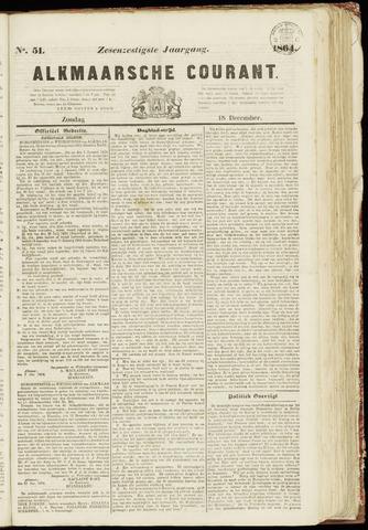 Alkmaarsche Courant 1864-12-18