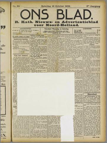 Ons Blad : katholiek nieuwsblad voor N-H 1909-10-16