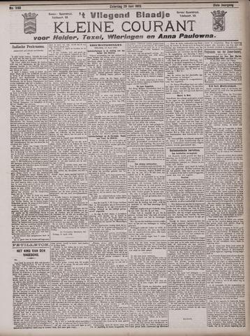 Vliegend blaadje : nieuws- en advertentiebode voor Den Helder 1903-06-20