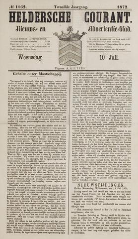 Heldersche Courant 1872-07-10