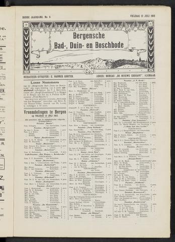 Bergensche bad-, duin- en boschbode 1912-07-12