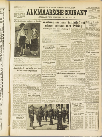 Alkmaarsche Courant 1955-07-27