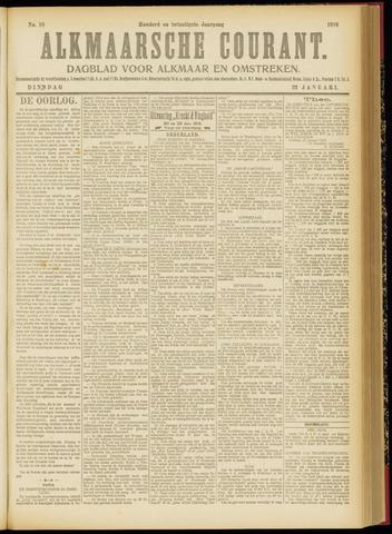 Alkmaarsche Courant 1918-01-22