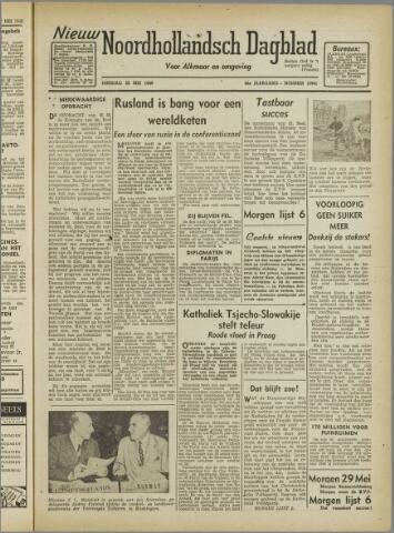 Nieuw Noordhollandsch Dagblad : voor Alkmaar en omgeving 1946-05-28