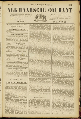 Alkmaarsche Courant 1881-01-23