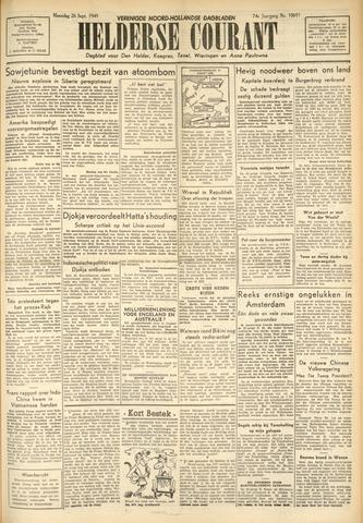 Heldersche Courant 1949-09-26