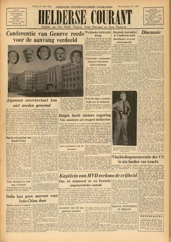 Heldersche Courant 1954-04-23