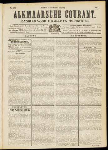 Alkmaarsche Courant 1912-09-30